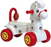 Buy Girnar Manual Pony Rider - White