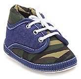 Buy Little''s Military Print Lace Up Booties