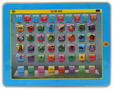 My Smart Blue Pad 2.2 With Light And Sound 18 Months+, 19 X 24 Cm, 1 To 10 Number Keys With Pia...