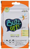 Buzz Off Mosquito Repellent Alphabet  - 6 patches