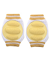Buy Fab N Funky - Knee Pad Dark Yellow Set Of Two