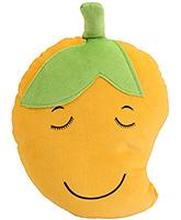 Buy Dimpy Stuff Soft Mango Fruit Cushion - Yellow