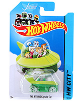 Buy Hotwheels The Jetsons Capsule Car - Green