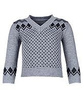 Buy Babyhug Full Sleeves Dot Design Sweater