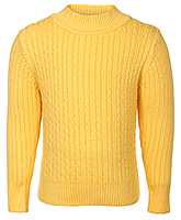 Buy Babyhug Full Sleeves Cable Stitch Sweater - High Neck