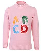 Buy Babyhug Full Sleeves Sweater - Rubber Print