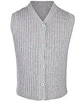Buy Babyhug Sleeveless V Neck Sweater