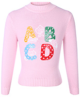 Buy Babyhug Full Sleeves Sweater With Patch Work