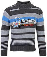 Buy Babyhug Full Sleeves Sweater - Eason Print