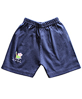 Buy Wow Mom Casual Shorts - Navy Blue