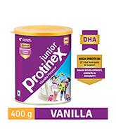 Buy Protinex Junior Vanilla Flavour Tin - 400 gm