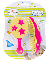 Buy 1st Step Brush And Comb Set - Yellow Color