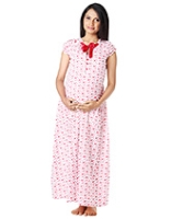Buy Morph Pretty Red Nursing Gown