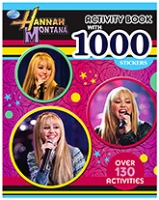 Parragon Disney Hannah Montana - Activity Book With 1000 Stickers