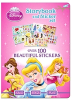 Parragon Disney Princess - Storybook And Sticker Set