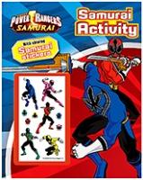 Parragon Power Rangers Samurai Activity Book