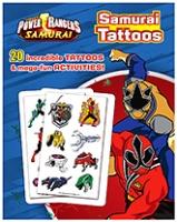 Parragon Sabans Power Rangers Samurai - Samurai Tattoos