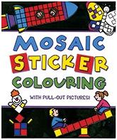 Parragon Mosaic Sticker Colouring