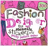 Parragon Fashion Designer - Over 300 Stickers