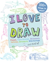 Parragon I Love To Draw - 100 Plus Things To Draw