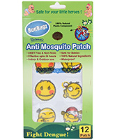 Buy Runbugz Anti Mosquito Patches - Coloured Smileys