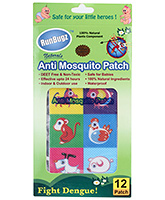 Runbugz Anti Mosquito Patches - Animal Prints
