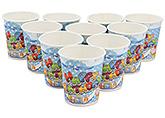 Buy Karmallys Printed Paper Cups Happy Birthday Pastry Print - 200 ml