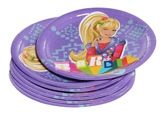Barbie Paper Plates