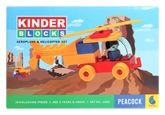 Peacock Kinder Blocks - Aeroplane &amp; Helicopter Set