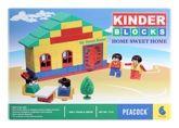 Peacock Kinder Blocks - Home Sweet Home 4 Years+, A Very Versatile Game