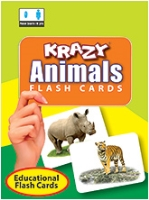Buy Krazy Animals Mini Flash Cards
