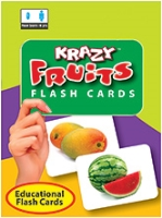Buy Krazy Fruits Mini Flash Cards