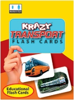 Buy Krazy Transports Mini Flash Cards