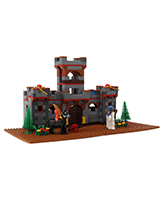 Peacock Smart Blocks - Castle Set With W... 5 Years+, 575 Interlocking Pieces, A Very Versatile ...