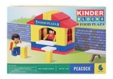 Blocks and Construction Sets - Peacock Kinder Blocks - Food Plaza