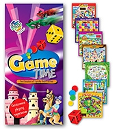 Buy Chitra Gogo Kids Game Time - Combination Of 7 Quirky Board Games