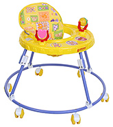 Buy Mothertouch Round Walker - Yellow