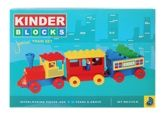 Peacock Kinder Blocks - Junior Train Set... 3 Years+, See Your Child Building His Imagination