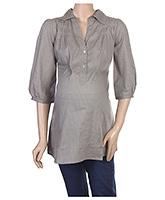 Buy Uzazi 3/4th Sleeves Maternity Top - Medium