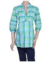 Buy Uzazi Maternity 3/4th Sleeves Shirt Style Top - Medium