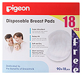 Buy Pigeon Disposable Breast Pads 90 pieces