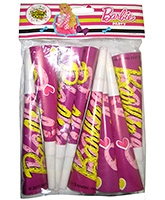Buy Barbie Paper Horns - Pack Of 8