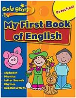Parragon Preschool My First Book Of English
