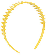 Buy Stol''n Yellow Hair Band - Zig Zag Design