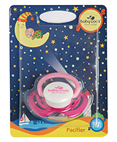 Baby Coo's Bibo Pacifier Pink - Single Piece