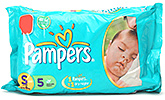 Buy Pampers Diaper Small - 5 pieces
