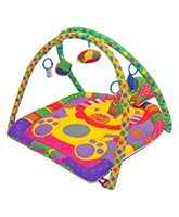 Fab N Funky Twist N Fold Move N Play Activity Gym Lion - Multicolor