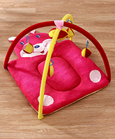 Fab N Funky Twist N Fold Move N Play Activity Gym Bunny - Pink