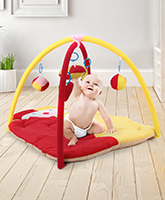 Fab N Funky Twist N Fold Move N Play Activity Gym Clown - Multicolor