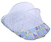 Buy Littles Mattress Set With Mosquito Net Penguin Print Blue